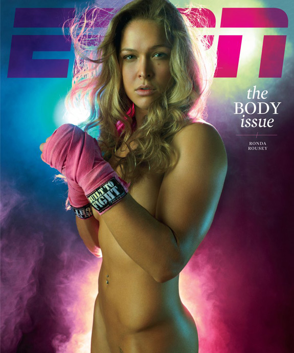ESPN Body Issue Cover 2012 Ronda Rousey Cover