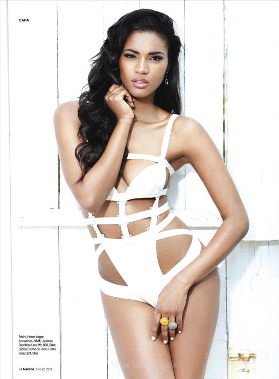 Miss Universe Leila Lopes Maxim Portugal June 2012 (6)