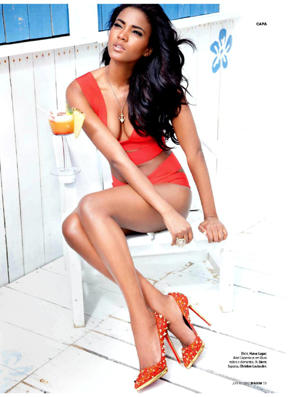 Miss Universe Leila Lopes Maxim Portugal June 2012 (8)