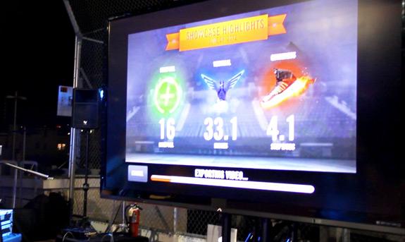 Nike+ Fuel Lunar Game On World 8