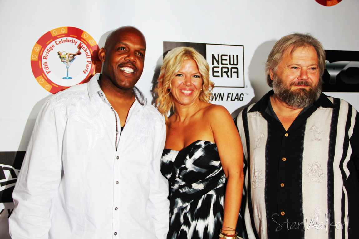 Playboy Mansion Pre ESPY Party US Bounty Hunters Benny Denise Fred