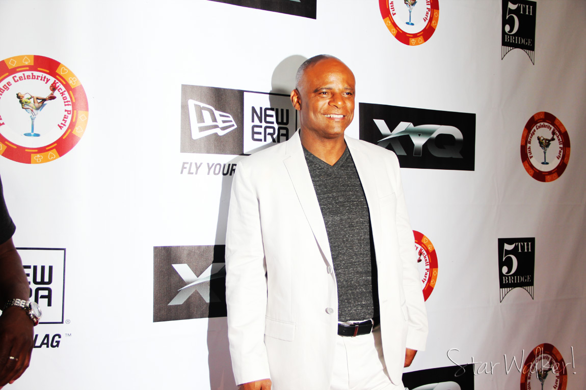 Playboy Mansion Pre ESPY Party Warren Moon