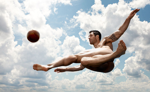 Carlos Bocanegra 2012 Body Issue Bodies Want Espn Magazine