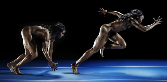 ESPN Body Issue 2012 Carmelita Jeter