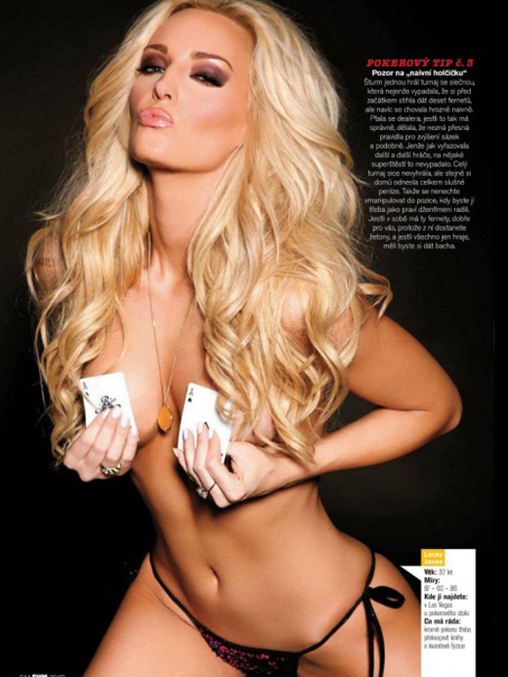 Lacey Jones Top 10 Hottest Female Poker Players