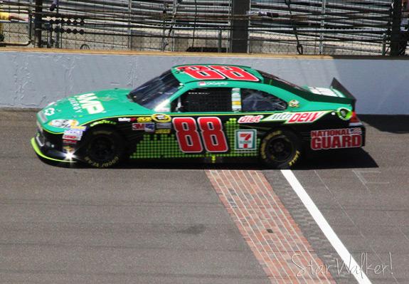 NASCAR Brickyard 400 Dale Earnhardt Jr Car 88