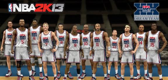NBA 2k13 Dream Team