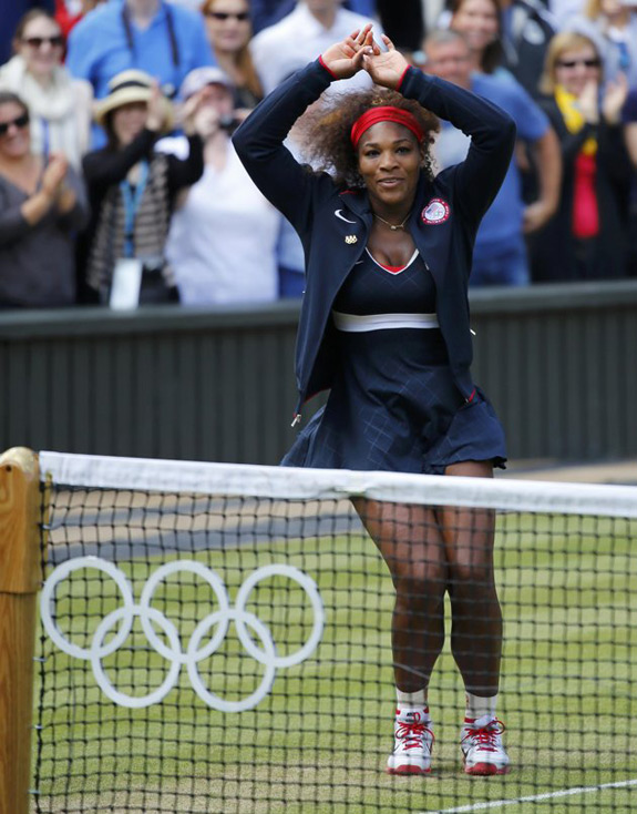 Serena Williams Olympics Ceremony Dancing