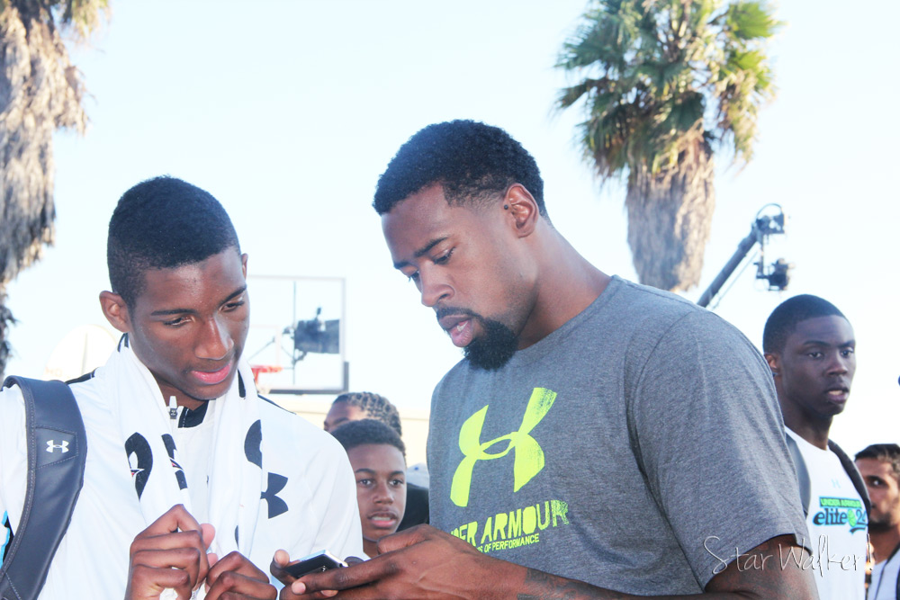 Under Armour Elite 24 DeAndre Jordan and Marcus Lee