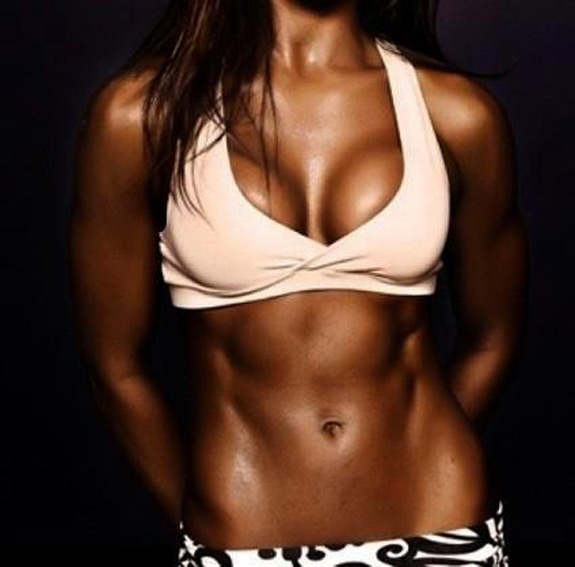 Daily Abspiration Hot Chicks Hot Abs Tanned Abs