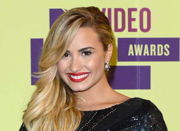Demi Lovato MTV VMA Music Awards 2012