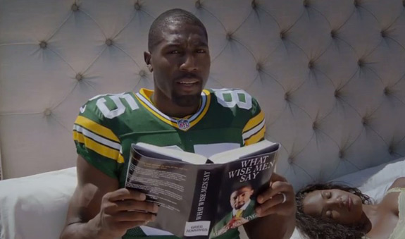 Greg Jennings Old Spice Commercial