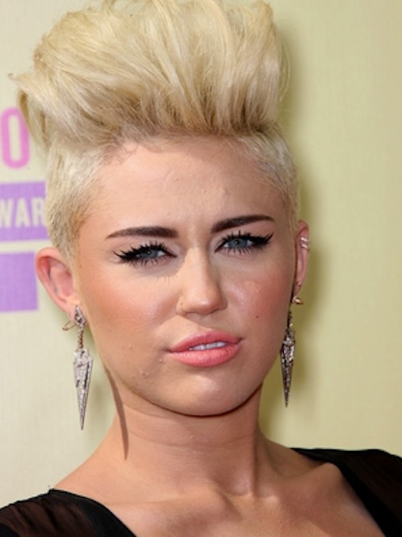 Miley Cyrus MTV VMA Music Awards 2012