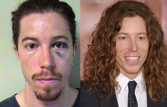 Shaun White Mugshot Jail Arrested