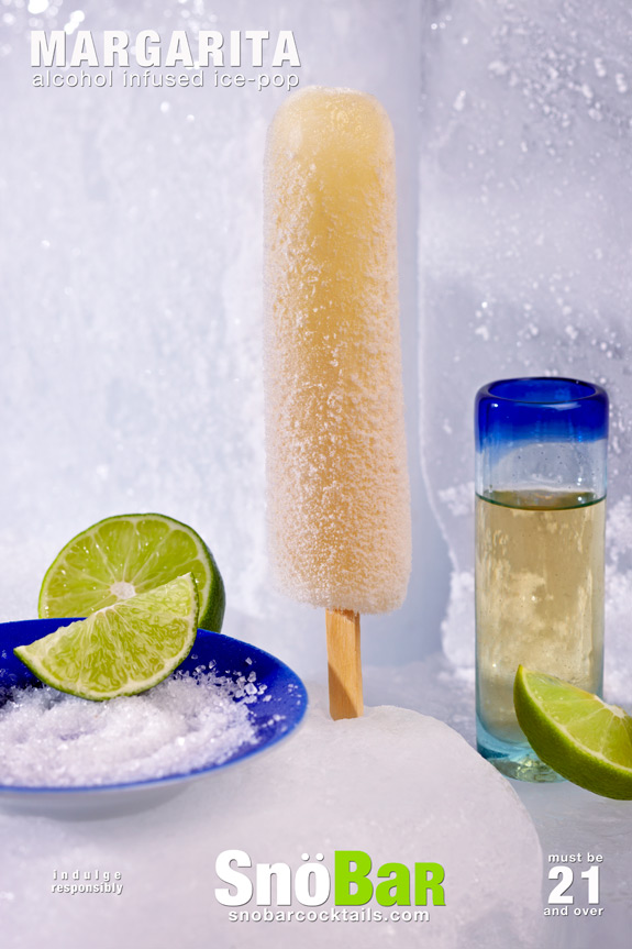 SnoBar Margarita Ice Pops