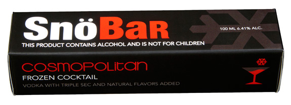 SnoBar Alcohol Ice Pops