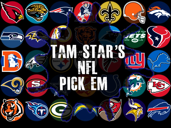 Tam Star NFL Picks Logos