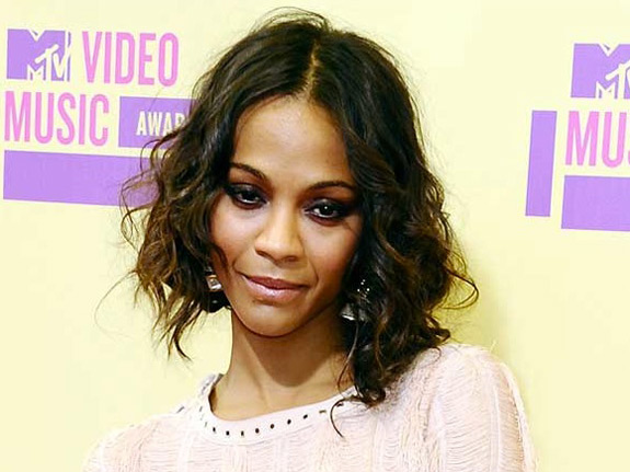 Zoe Saldana MTV VMA Music Awards 2012