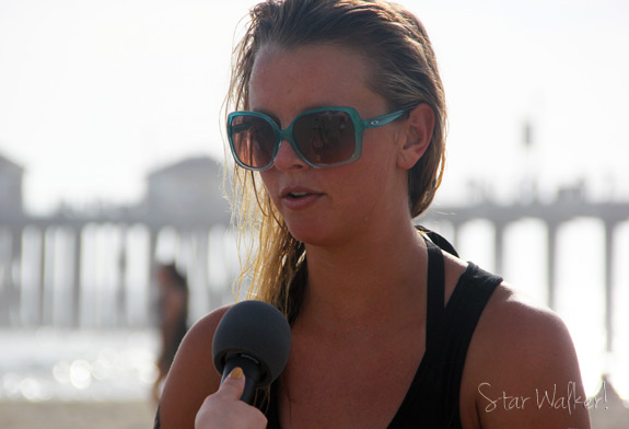 Pro Volleyball Player Jessica Gysin