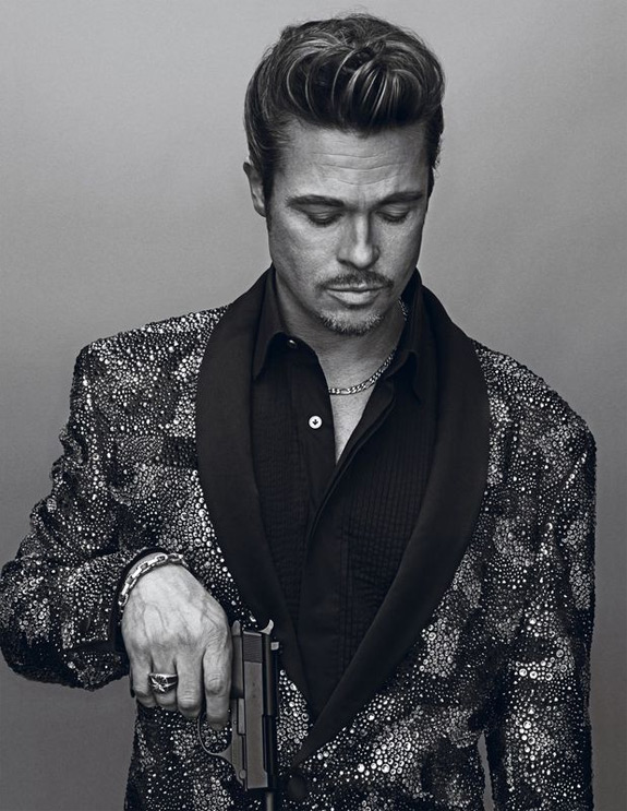 Brad Pitt Photos Interview Magazine (3)