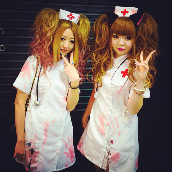 Halloween Pictures Photos Living Dead Gyaru Nurses