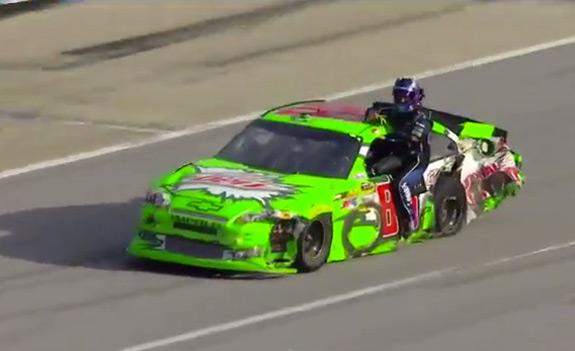 NASCAR Talladega Wreck
