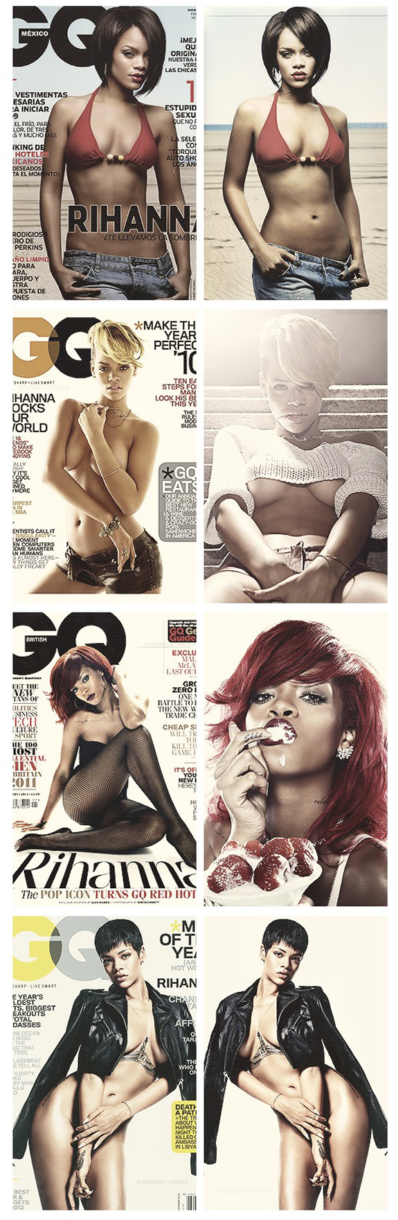 All Rihanna GQ Covers Look Back