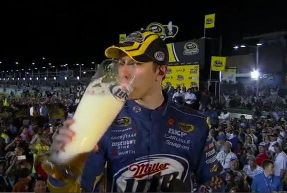 Brad Keselowski NASCAR Miller Lite Sprint Cup