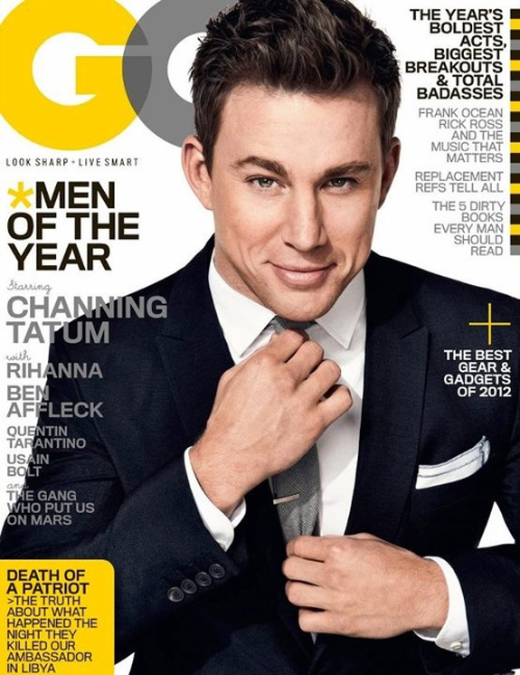 Channing Tatum GQ Men Of The Year