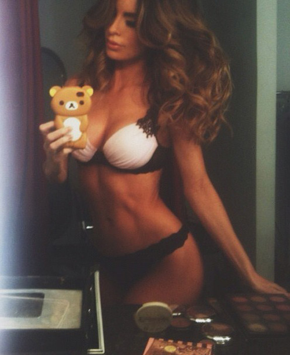 Daily Abspiration Hot Chicks Hot Abs Teddy Bear
