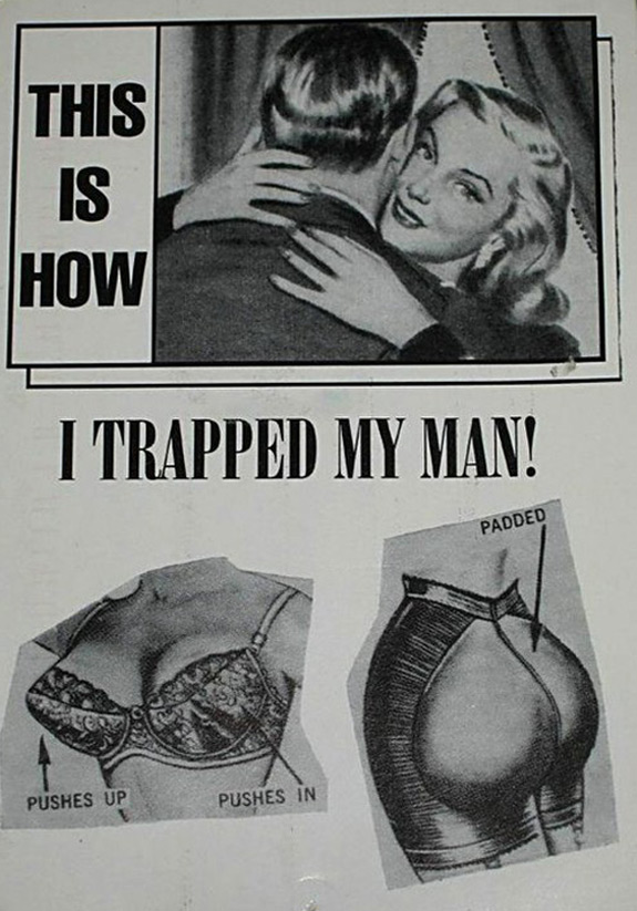 Funny Photo Women Trap Men