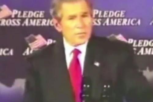 Presidential Fail George Bush