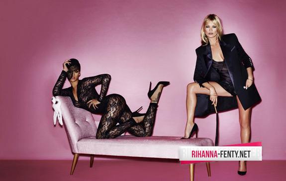 Rihanna Kate Moss V Magazine