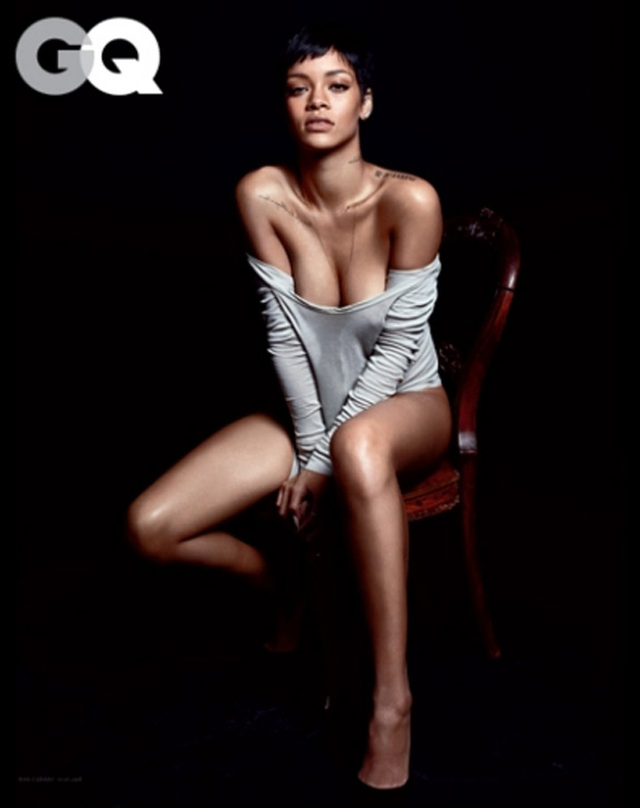 Rihanna Naked GQ Magazine Photos