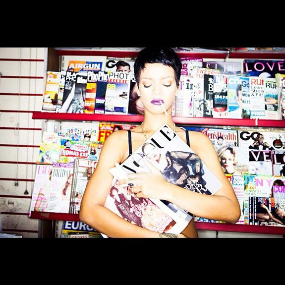 Rihanna Vogue Instagram Photo