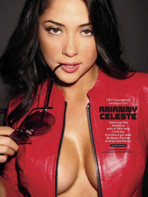 UFC Octagon Girls Maxim Magazine Arianny Celeste