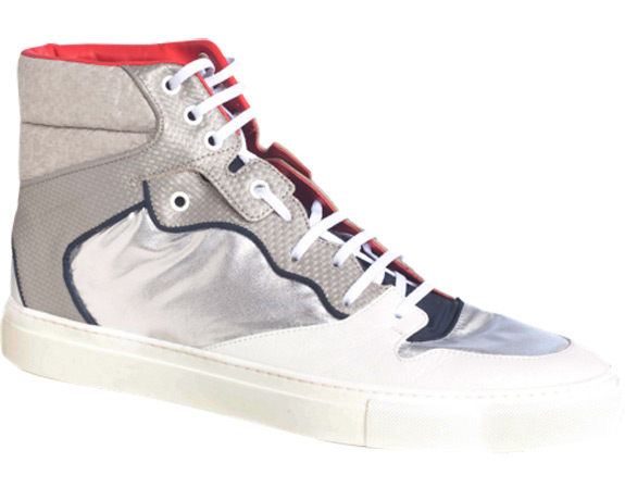 Balenciaga Multi Material High Top Sneaker
