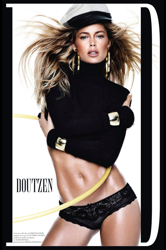 Daily Abspirations Hot Chick Abs Doutzen Kroes