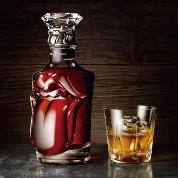 Rolling Stones Whisky Suntory