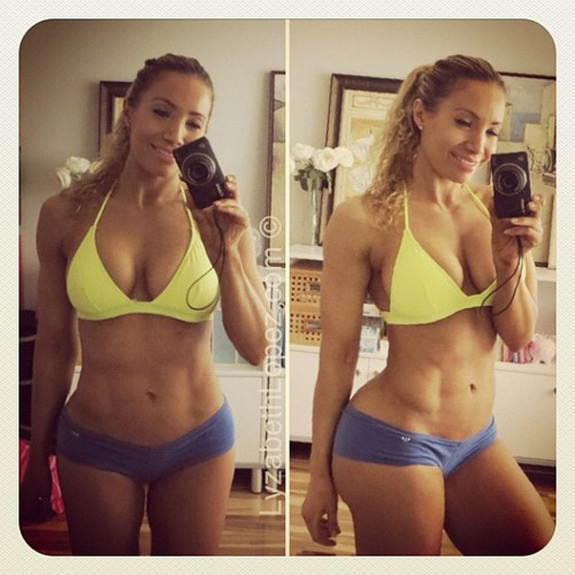 Daily Abspiration Hot Chicks Hot Abs Lot Of Body