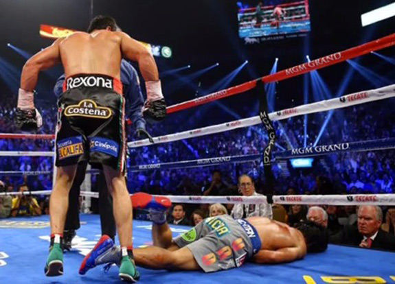Juan Manuel Marquez Knocks Out Manny Pacquaio