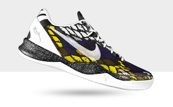 Kobe System 8 Nike ID Custom Made