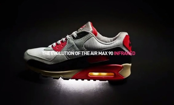 The Evolution Of Nike Air Max 90 Infrared
