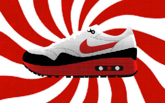 The MAX100 Project Air Max Illustrations