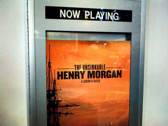 The Unsinkable Captain Henry Morgan Now Playing