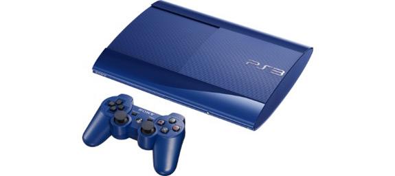 Blue Sony PlayStation