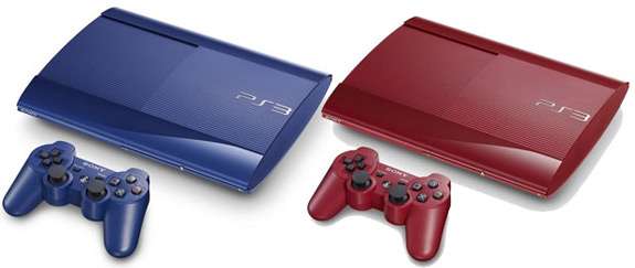 Red Blue Sony PlayStation