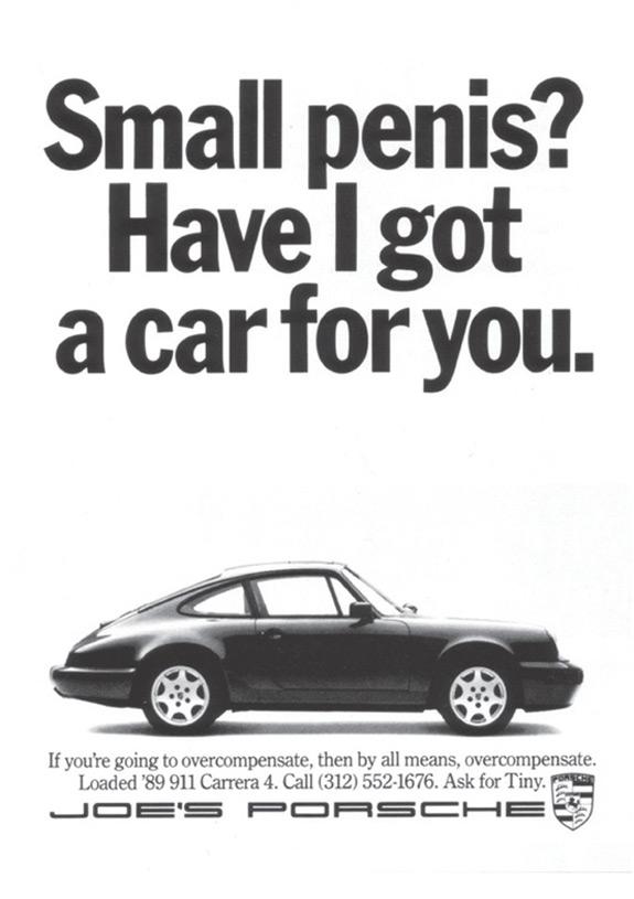 Small Penis Porsche