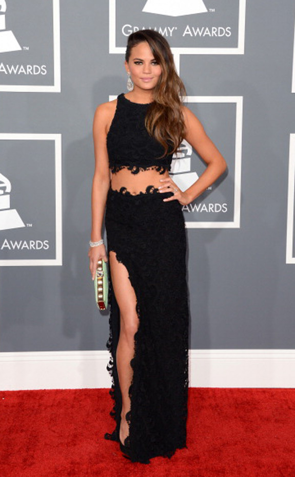 Chrissy Teigen Photos Grammy Awards