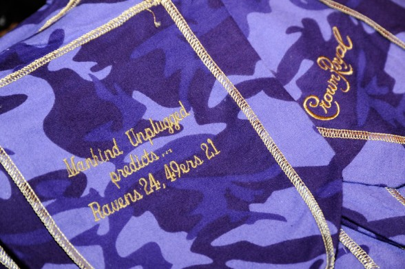 Crown Royal Camo Bag
